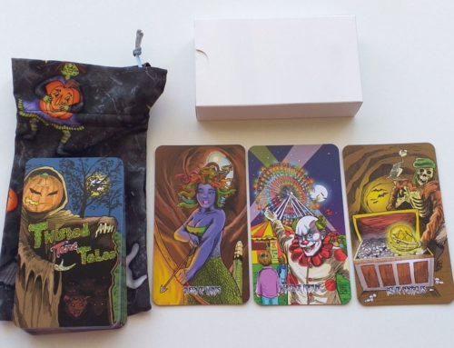 Twisted Tales Tarot aneb zvrácený svět tarotu