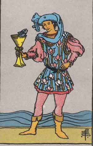 Páže (princezna) pohárů