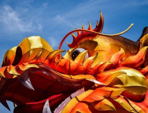 Rozklad Červený drak